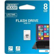 Флеш память USB 2.0 Goodram 8 Гб UPI2 (Piccolo) White (UPI2-0080W0R11)