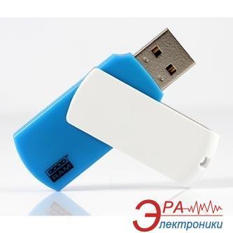 Флеш память USB 2.0 Goodram 16 Гб UCO2 (Colour Mix) Blue/White (UCO2-0160MXR11)