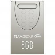 Флеш память USB 2.0 Team 8 Гб C156 Silver (TC1568GS01)