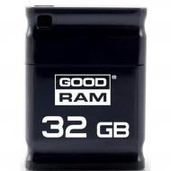 Флеш память USB 2.0 Goodram 32 Гб UPI2 Piccolo Black (UPI2-0320K0R11)