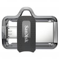 Флеш память USB 3.0/microUSB SanDisk 256 Гб Ultra Dual Drive m3.0 OTG (SDDD3-256G-G46)