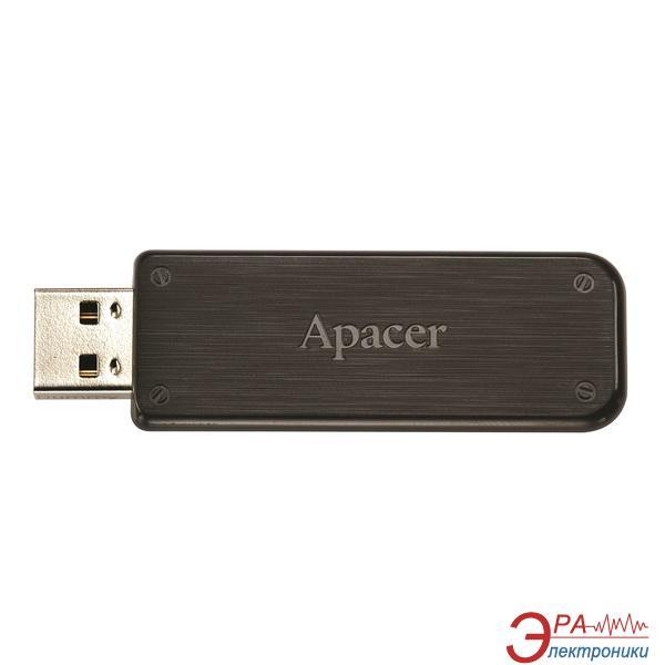 Флеш память USB 2.0 Apacer 64 Гб AH325 Black (AP64GAH325B-1)