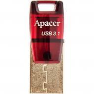 Флеш память USB 3.1/Type-C Apacer 16 Гб AH180 Red (AP16GAH180R-1)