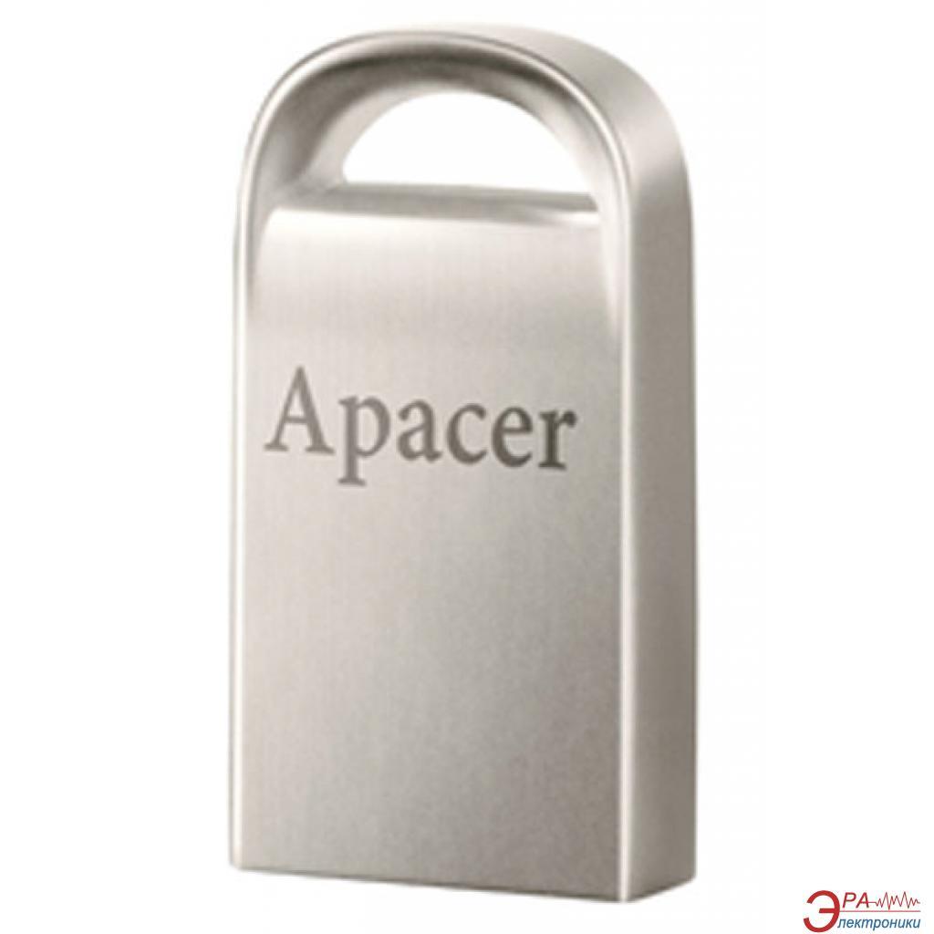 Флеш память USB 2.0 Apacer 8 Гб AH115 Silver (AP8GAH115S-1)