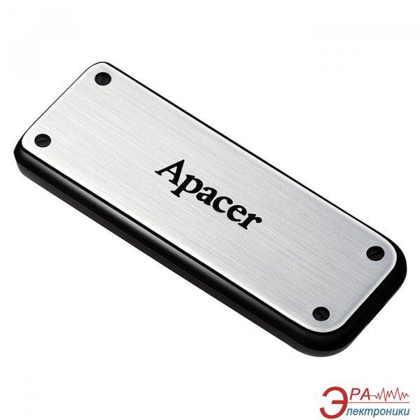 Флеш память USB 2.0 Apacer 32 Гб AH328 Silver (AP32GAH328S-1)