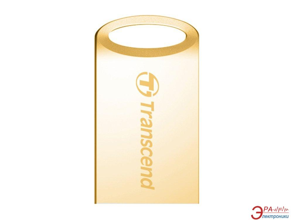 Флеш память USB 2.0 Transcend 16 Гб JetFlash 510G Gold (TS16GJF510G)