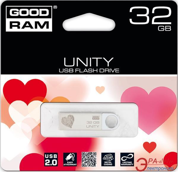 Флеш память USB 2.0 Goodram 32 Гб Unity VALENTINE (PD32GH2GRUNSR9+V)