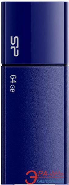 Флеш память USB 2.0 Silicon Power 64 Гб Ultima U05 Deep Blue (SP064GBUF2U05V1D)