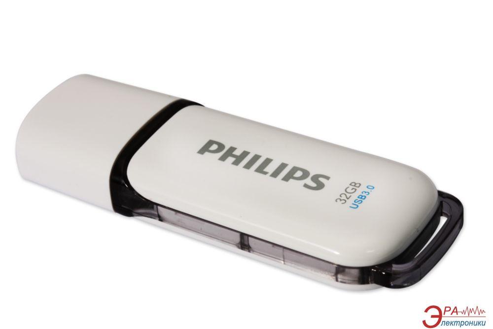 Флеш память USB 3.0 Philips 32 Гб Snow (FM32FD75B/97)