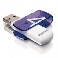 Флеш память USB 2.0 Philips 4 Гб Vivid (FM04FD05B/97)