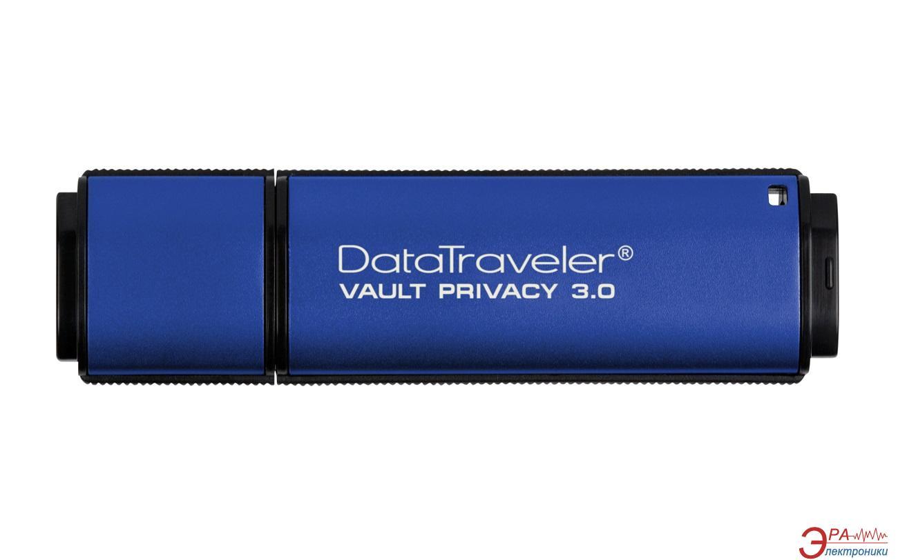 Флеш память USB 3.0 Kingston 32 Гб DataTraveler Vault Privacy 3.0 (DTVP30/32GB)