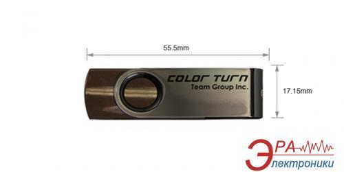 Флеш память USB 2.0 Team 32 Гб Color Turn Brown (TE90232GN01)