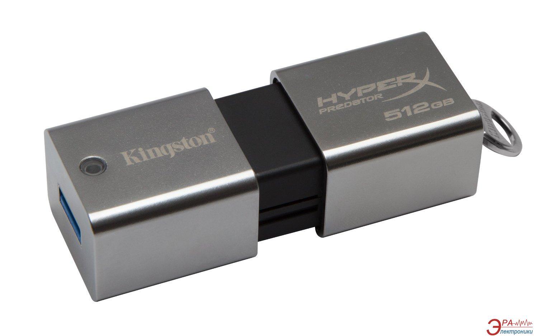 Флеш память USB 3.0 Kingston 512 Гб DataTraveler HyperX Predator (DTHXP30/512GB)