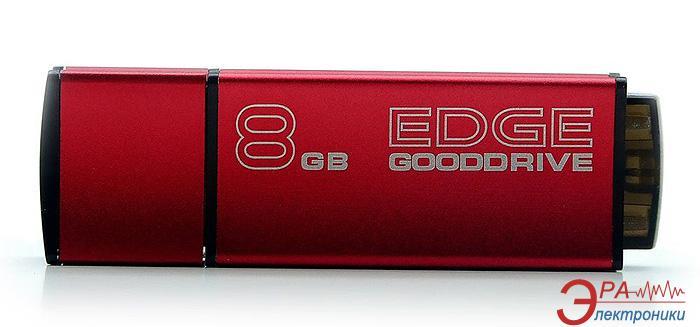 Флеш память USB 2.0 Goodram 8 Гб Edge Red (PD8GH2GREGRR9)