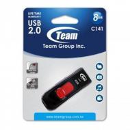 Флеш память USB 2.0 Team 8 Гб C141 Red (TC1418GR01)