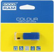 Флеш память USB 2.0 GoodDrive 8 Гб COLOUR УКРАИНА, Синий/Желтый (PD8GH2GRCOBYR9)
