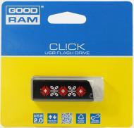 Флеш память USB 2.0 GoodDrive 8 Гб CL!CK УКРАИНА, Черный (PD8GH2GRCLKR9L)