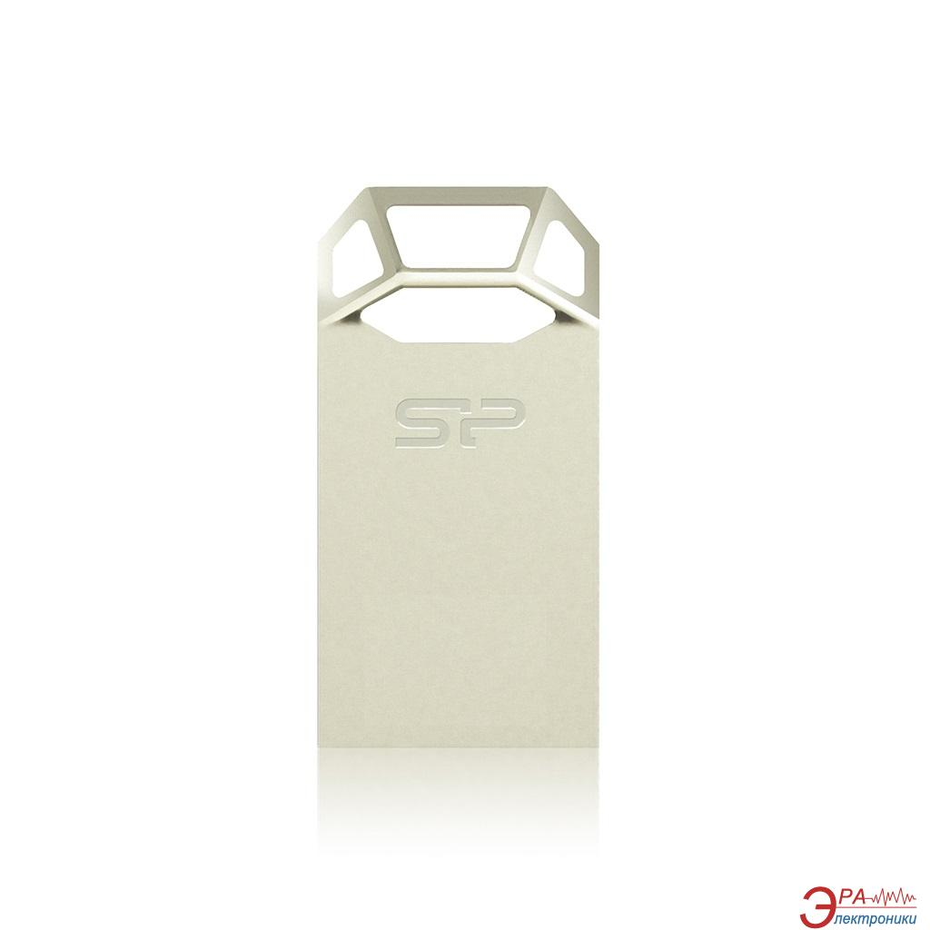 Флеш память USB 2.0 Silicon Power 16 Гб Touch T50 Шампань (SP016GBUF2T50V1C)