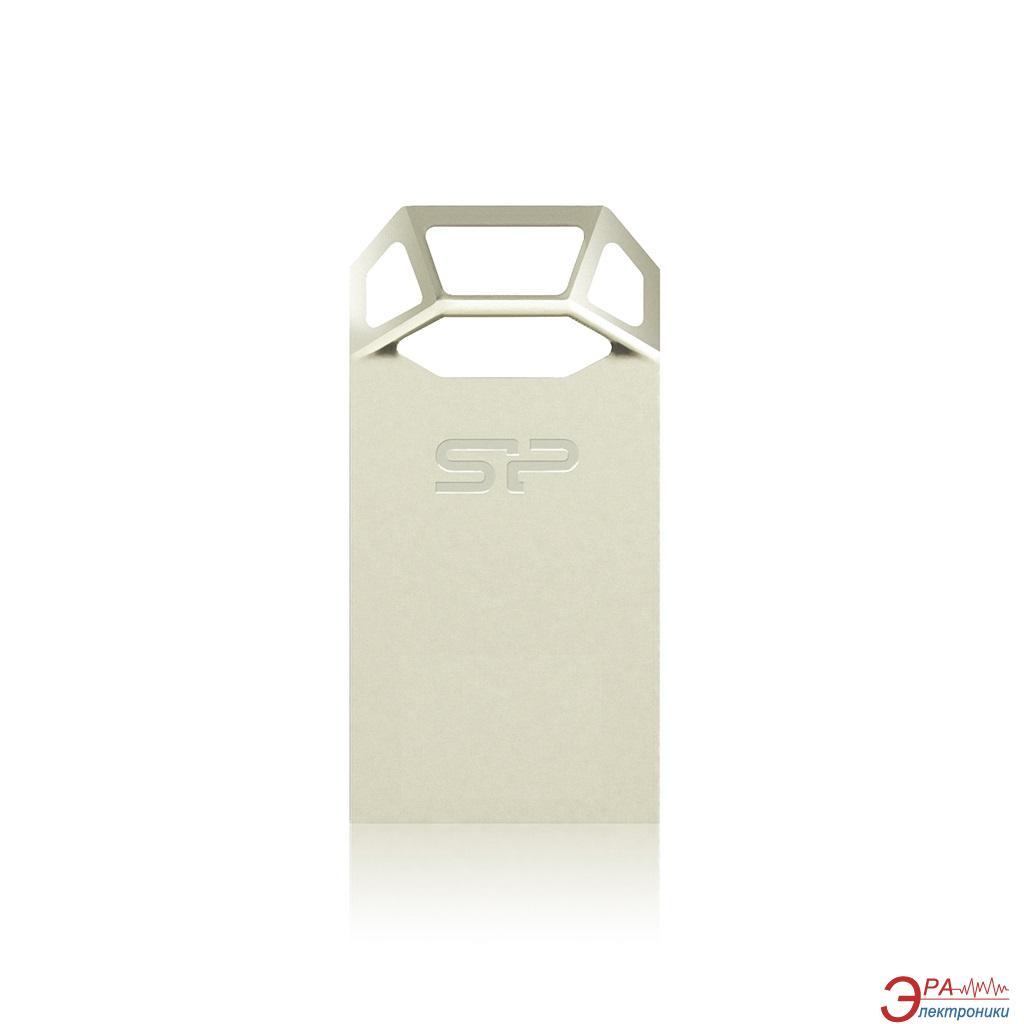 Флеш память USB 2.0 Silicon Power 32 Гб Touch T50 Шампань (SP032GBUF2T50V1C)