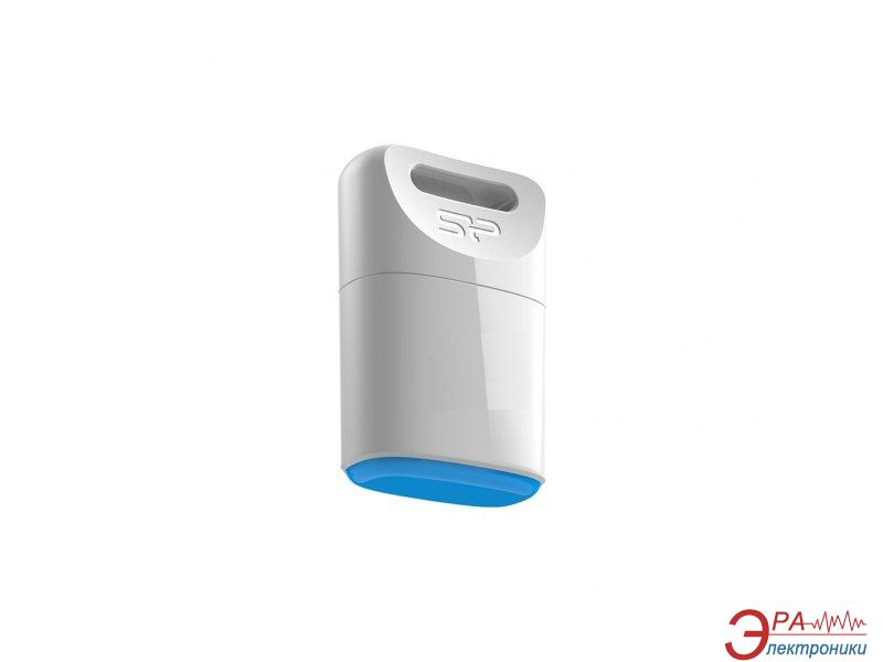 Флеш память USB 2.0 Silicon Power 8 Гб Touch T06 White (SP008GBUF2T06V1W)