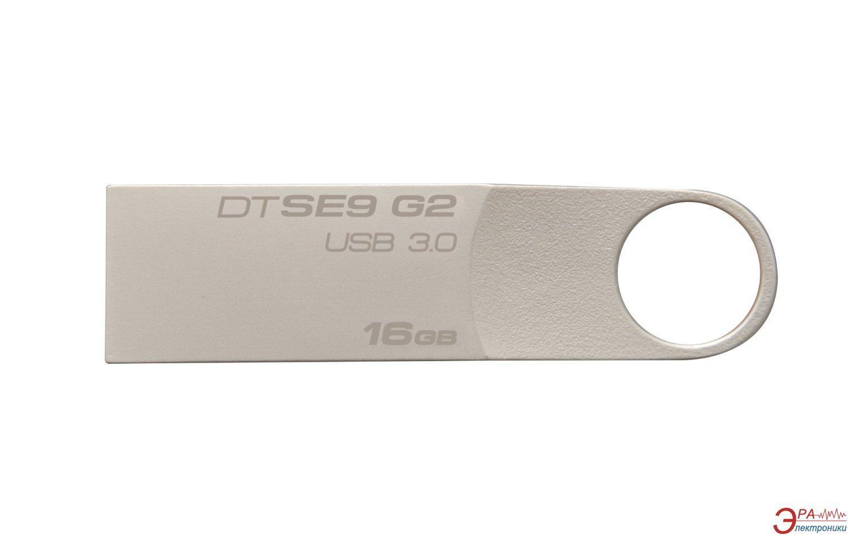 Флеш память USB 3.0 Kingston 16 Гб DataTraveler SE9 G2 (DTSE9G2/16GB)