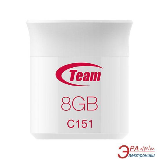 Флеш память USB 2.0 Team 8 Гб C151 (TC1518GR01)