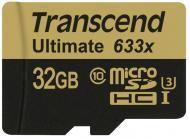 Карта памяти Transcend 32Gb microSD Class 10 UHS-I U3 (TS32GUSDU3)