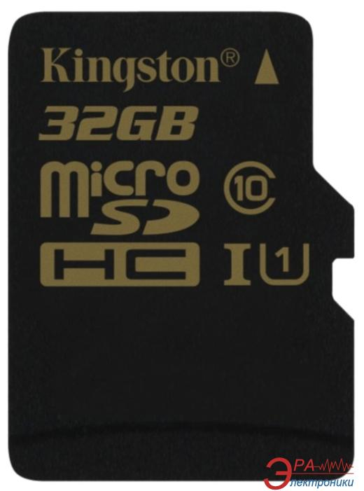 Карта памяти Kingston 32Gb microSD Class 10 (SDCA10/32GBSP)