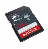 Карта памяти Sandisk 64Gb SD Class 10 UHS-I Ultra SDXC 48MB/s (SDSDUNB-064G-GN3IN)