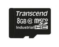 ����� ������ Transcend 8Gb microSD Class 10 MicroSDHC Industrial (TS8GUSDC10I)