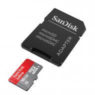 Карта памяти Sandisk 16Gb microSD Class 10 UHS-I microSDHC 80MB/s (SDSQUNC-016G-GN6IA)