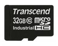 ����� ������ Transcend 32Gb microSD Class 10 MicroSDHC Industrial (TS32GUSDC10I)