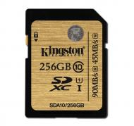 Карта памяти Kingston 256GB SD Class 10 UHS U1 SDXC (SDA10/256GB)