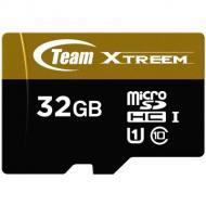 Карта памяти Team 32Gb microSD Class 10 UHS U1 microSDHC + SD adapter (TUSDH32GU9003)