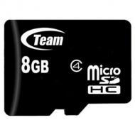 Карта памяти Team 8Gb microSD Class 4 (TUSDH8GCL402)