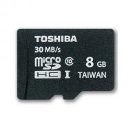 Карта памяти Toshiba 8Gb microSD Class 10 UHS-1 + adapter (SD-C008UHS1(6A))