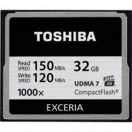 Карта памяти Toshiba 32Gb Compact Flash 1000x (CF-032GTGI(8)