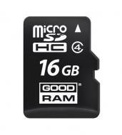 Карта памяти Goodram 16Gb microSD Class 4 (SDU16GHCGRR10)