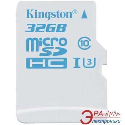 Карта памяти Kingston 32Gb microSD Class 10 UHS-I U3 Action (SDCAC/32GBSP)