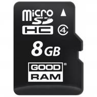 Карта памяти Goodram 8Gb microSD Class 4 no adapter (M400-0080R11)