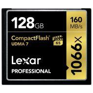 Карта памяти Lexar 128Gb Compact Flash 1066X Professional (LCF128CRBEU1066)
