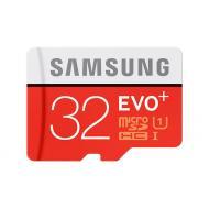 Карта памяти Samsung 32Gb microSD Class 10 UHS-I Evo Plus + SD adapter (MB-MC32DA/RU)