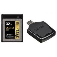 Карта памяти Lexar 32Gb XQD 2933X Professional + USB 3.0 reader (LXQD32GCRBEU2933BN)