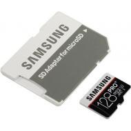 Карта памяти Samsung 128Gb microSD Class 10 UHS-I U3 PRO Plus (MB-MD128DA/RU)
