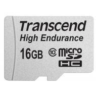 Карта памяти Transcend 16Gb microSD Class 10 High Endurance + ad (TS16GUSDHC10V)