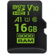 Карта памяти Goodram 16Gb microSD Class 10 UHS-I V30 no adapter (M1A0-0160R11-A1)