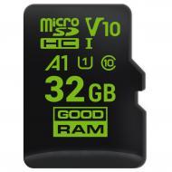 Карта памяти Goodram 32Gb microSD Class 10 UHS-I V30 no adapter (M1A0-0320R11-A1)
