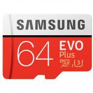 Карта памяти Samsung 64Gb microSD Class 10 UHS-I EVO Plus (MB-MC64GA/RU)