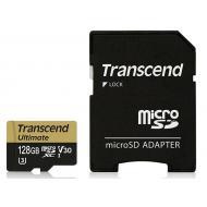 Карта памяти Transcend 128Gb microSD Class 10 UHS-I U3 MLC Ultimate (TS128GUSDU3M)