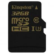 Карта памяти Kingston 32Gb microSD Class 10 UHS-I (SDCG/32GBSP)